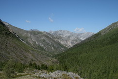 View back to Zungol valley
